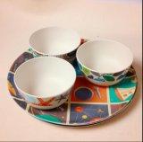BSCI Audit Hot-Sell Natural Bamboo Fiber Tableware Bowl