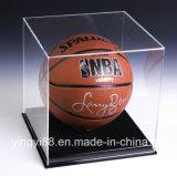 Clear Acrylic Baseball Display Case with Black Base