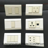 Plastic Mold German-Style Wall Switch Mould for Middle East Countries.