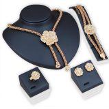 Bride Necklace Earrings Bracelet Fashion Jewelry