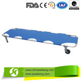 Hospital Aluminum Alloy Emergency Patient Collapsible Stretcher