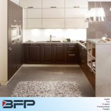 Rta Commerical High Gloss Vinyl Warp Door Kitchen Cabinet