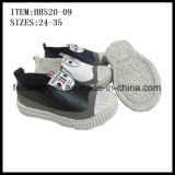 New Design Children Slip-on Shoes Injection Canvas Shoes Factory (HH520-09)