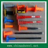 Chisel Flat and Point Cold Chisel with Plastic Hand Grip
