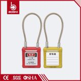 Bd-G41 Colorful Wire Padlock Stainless Steel Shackle Padlock