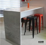 Custom Solid Surface Bar Counter Table, Artificial Stone Long Bench Table