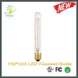 T30*185mm LED Tube Bulb E26/E27 Dimmable Filament Bulb