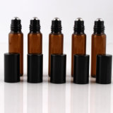 Empty Glass Roll on Bottle Perfume Bottles with Plastic Cap