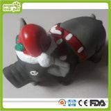Latex Black and Grey Christmas Pig