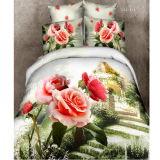 Stylish Rose in 3D Bedding Linen # Lcj-315