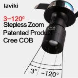 CREE Recessed COB Focus Zoom Adjustable LED Spotlight with 3W LED Light