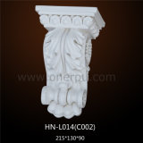 Polyurethane Acanthus Carved Corbels for Home Decoration Hn-L014