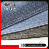 Fashion 21s 95%Cotton 5%Spandex Slub Knitting Denim Fabric Stored Sale