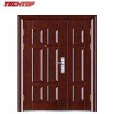 TPS-128sm Lowes Wrought Iron Double Door Steel Security Doors