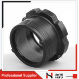 Electrofusion Fitting Dn50 Adapter Black Plastic Pipe Flange
