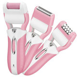 3 in 1 Rechargeable Epilator Electric Lady Shaver Callus Remover Electric Hair Removal Epilator for Women Best Foot Care