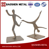 Metal Crafts/Promotion Gifts/Home/Office Sport Sculpture Metal Art Decorations