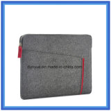 Popular Eco-Friendly Material of 70% Content Wool Felt Laptop Briefcase Sleeve, Custom Portable Soft Laptop Sleeve with Zipper