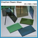 4mm-12mm Reflective Glass/Coated Glass with Ce