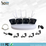 Private Mode 4chs 1.3/2.0MP WiFi NVR Kits Security System From Wdm