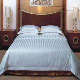 Luxury Duvet Cover Hotel Quality Sateen Stripe Bedding Set (DPF1026)