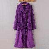 Promotional Hotel/Home Coral Fleece / Flannel Bathrobe/ Pajama/Nightwear