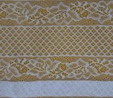 2017 High Quality Embroidery Lace Fabric Polyester Trimming Fancy Melt Polyster Lace for Garments & Home Textilesln10001