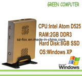 2013 Last X86 Desktop Computer Thin Client Network Terminal Tablet with Windows XPE Embedded D525 CPU 2GB RAM 8GB SSD