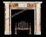 Stone Marble Fireplace Mantel (QY-LS379)