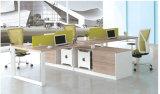 Office Furniture Melamine Workstation Desk with Parition