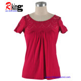 Ladies T-Shirt with Pleated