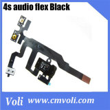 Wholesale replacement for iPhone 4S audio Black jack flex