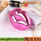 Cute Kissing Lips Portable USB Charger with RoHS