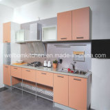 2016 New Welbom Orange Modern Melamine Kitchen Cabinet