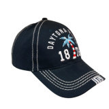 Cotton Baseball Cap with Thick Stitchings Bb1702