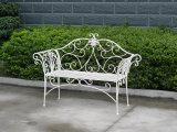 Foldable Iron Garden Bench