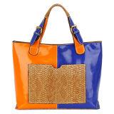 Contrast Color Designer Women Shoulder Bag (MBNO032026)