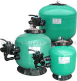 Fibergalss Sidemount Sand Filter for Swimming Pool (Ring Lock)