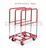"""27""""X38"""" Panel Mover Cart with Three Removable Handles"""