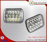 7 Inch 45W Epistar Hi/Low Beam LED Work Lamp for Jeep Truck 4X4