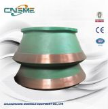 Mantle and Bow Liner High Manganese Casting Cone Crusher Spare Parts for Metso