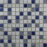Ceramic-Like Mosaic/Porcelainized Crystal Mix Mosaic (M8PCB92) / Mosaics for Wall/Wall Tiles/Glass Mosaic/Mosaic Tile