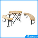Foldable Beer Tables with Benches