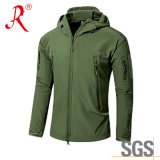 Best Waterproof Men′s Hooded Softshell Jacket (QF-4122)