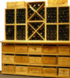 Combination Wood Wine Cellar Rack Different Sizes Bottle Storage Rack