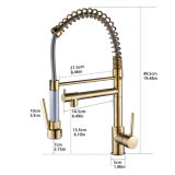 Flg Kitchen Faucet, Modern Pull out Kitchen Sink Faucet Mixer