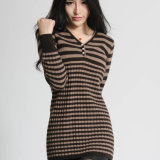 Ladies′s Cashmere Pullover Sweater (14-BRHZ9278.1)