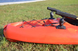 New Design Fishing Kayak with 2fishing Rod Holders and Deluxe Seat