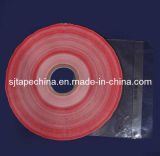 Double Sided Tape with Printing Red Line (PE-P12)