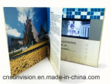 """Video Mailer Advertising Card 7"""" LCD Book with Inner Pages"""